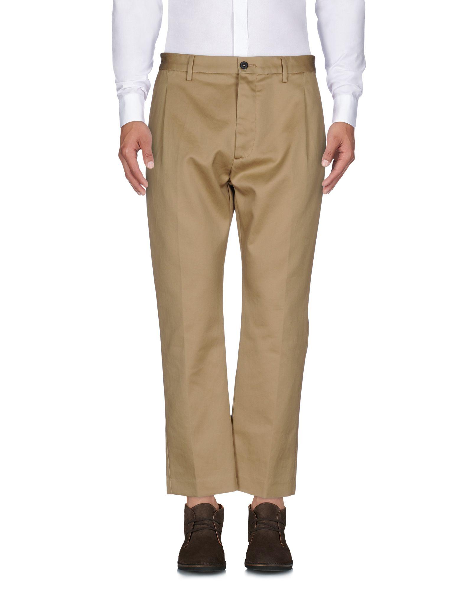 《送料無料》PENCE メンズ パンツ サンド 52 コットン 100%