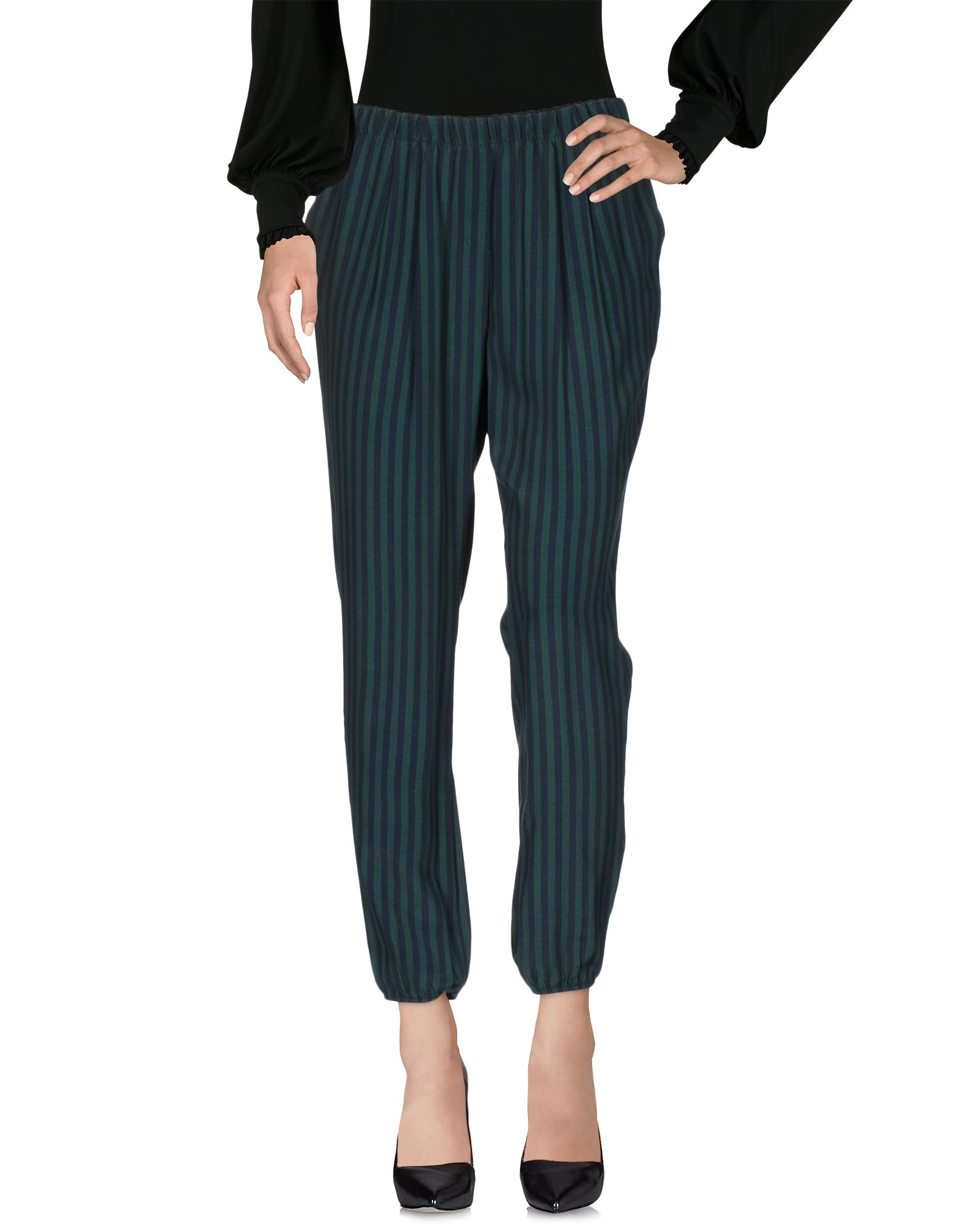 ANIYE BY Damen Hose Farbe Dunkelgrün Größe 5