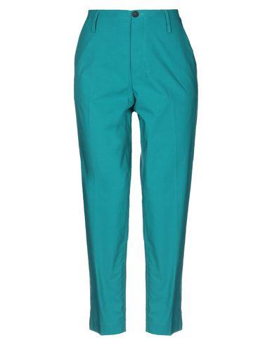 Фото - Повседневные брюки от FORTE_FORTE изумрудно-зеленого цвета
