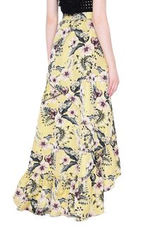 PHILOSOPHY di LORENZO SERAFINI HIBISCUS JUNGLE SKIRT GONNA D d