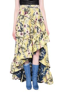 PHILOSOPHY di LORENZO SERAFINI HIBISCUS JUNGLE SKIRT GONNA D r