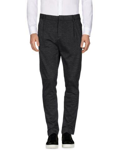 Фото - Повседневные брюки от PAOLO PECORA цвет стальной серый