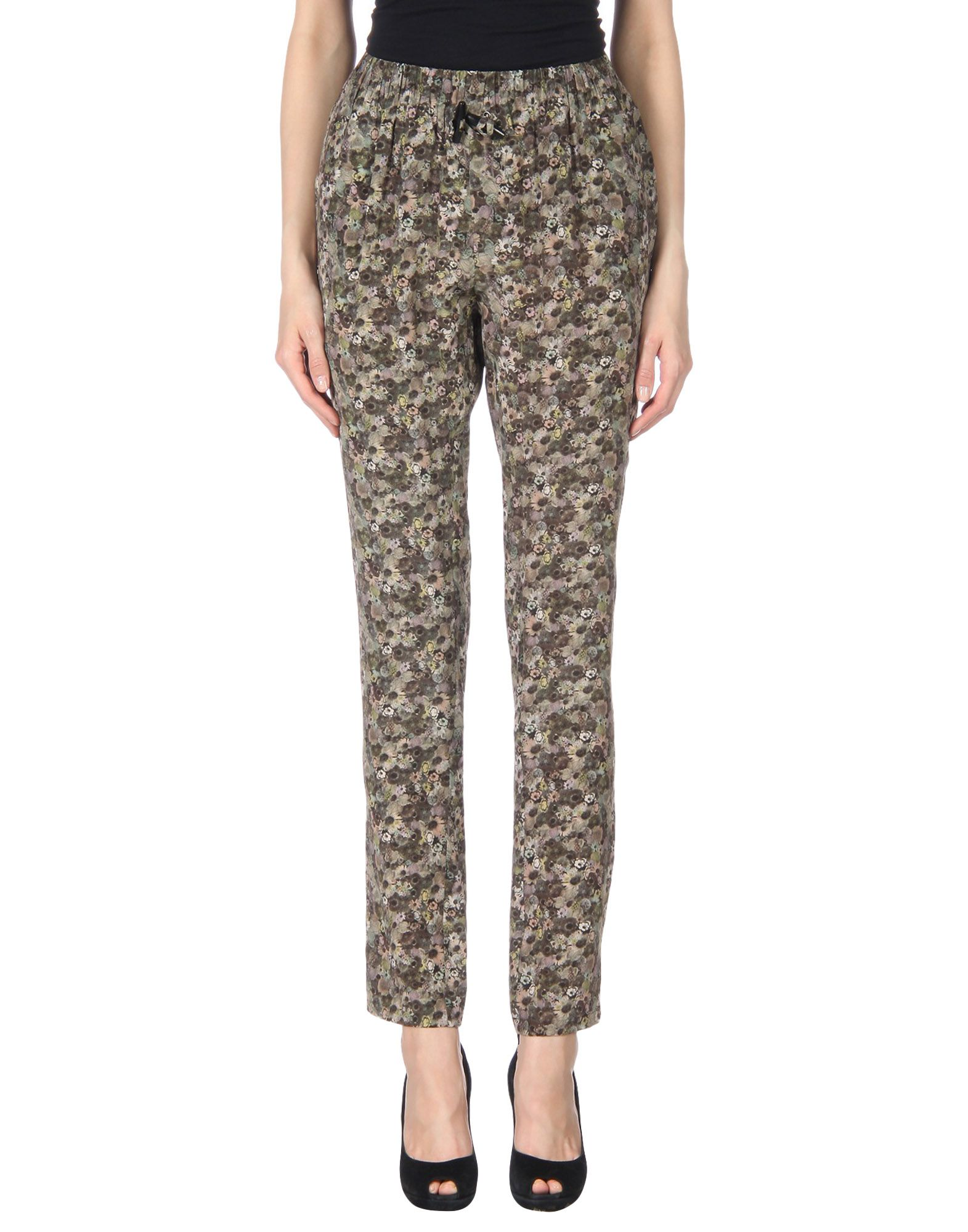 EMMA COOK Casual Pants in Brown