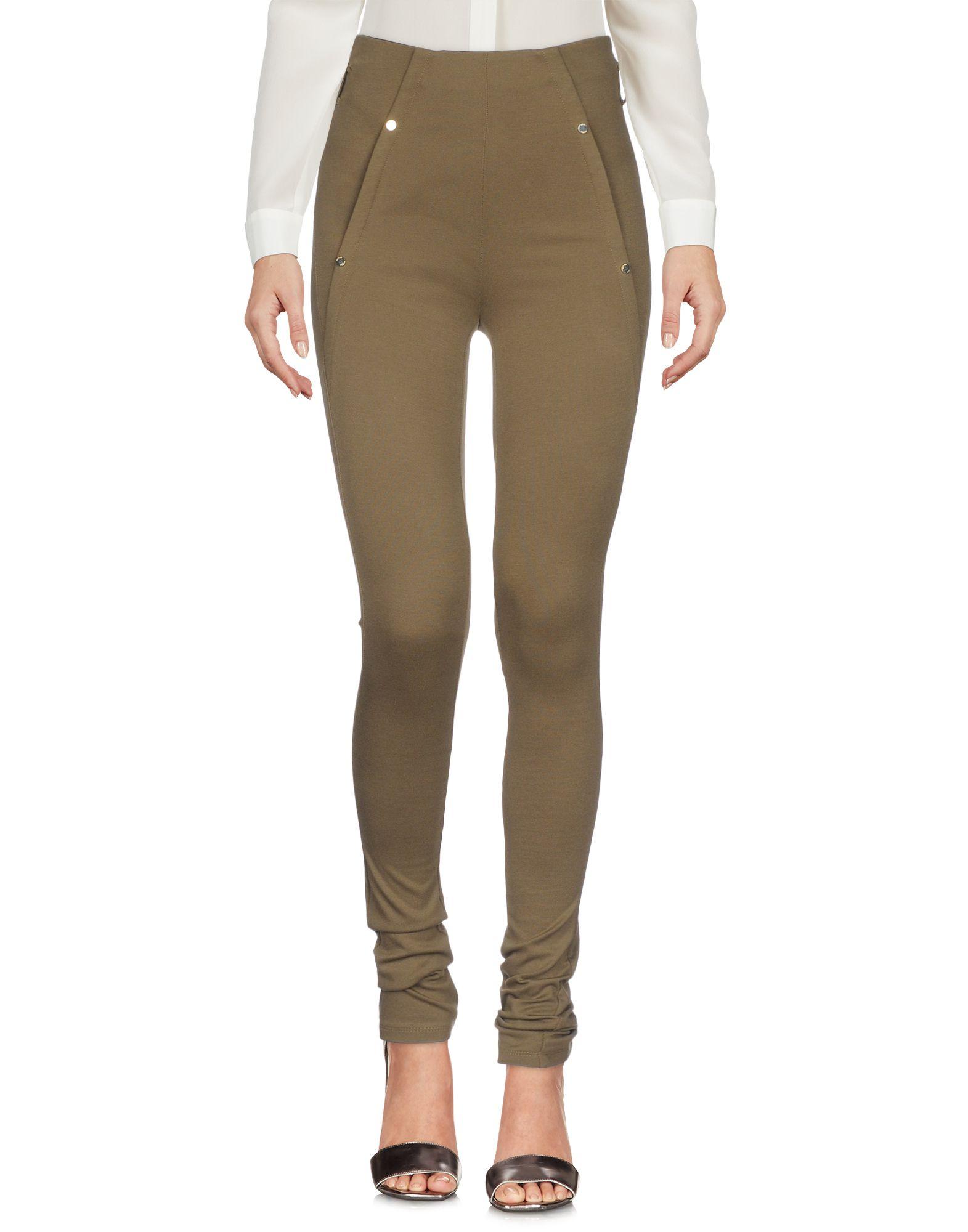 PATRIZIA PEPE Повседневные брюки patrizia pepe джинсы из эластичной хлопковой холщовой ткани