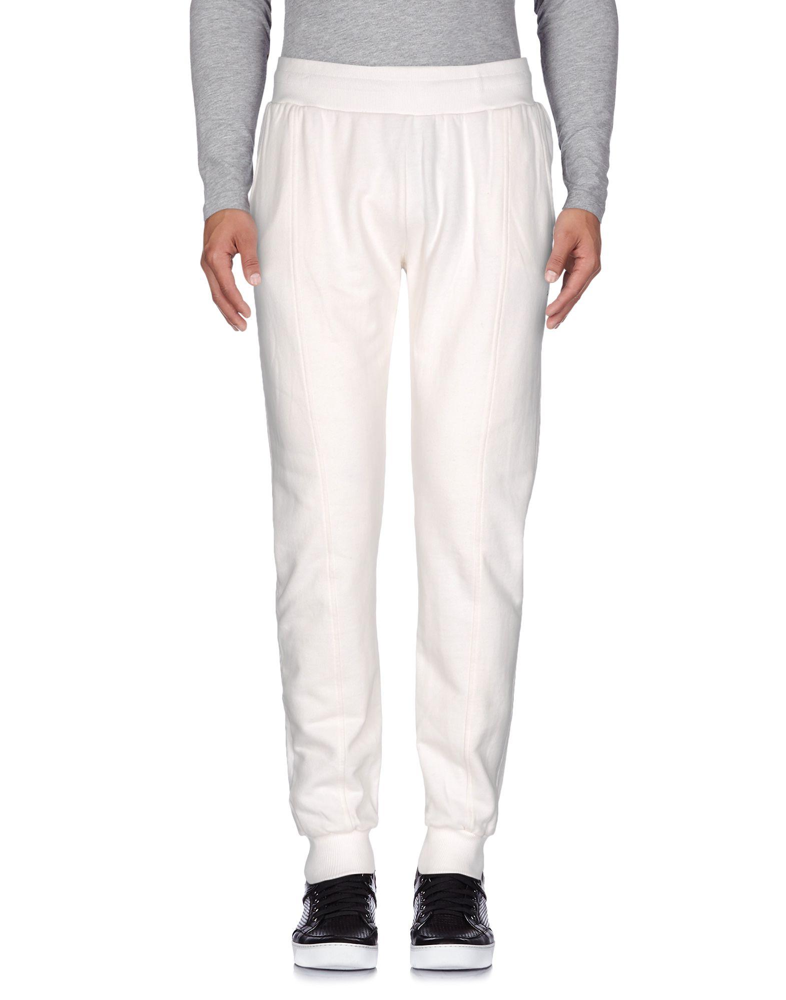 《セール開催中》CLUB DES SPORTS メンズ パンツ ホワイト XL コットン 100%