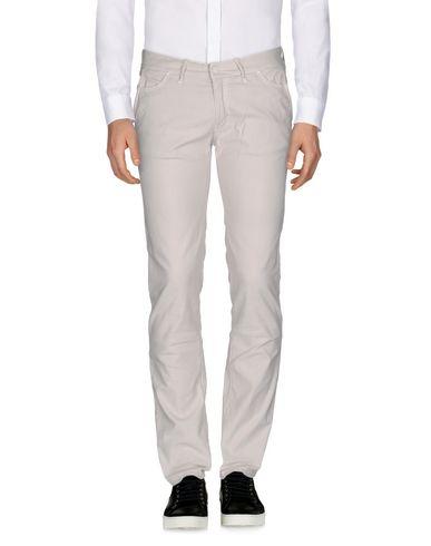 Купить Повседневные брюки от PAOLO PECORA светло-серого цвета