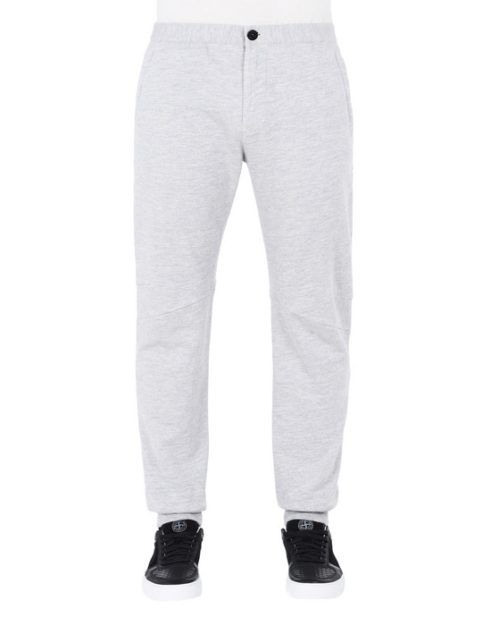 STONE ISLAND Fleece Trousers 64655