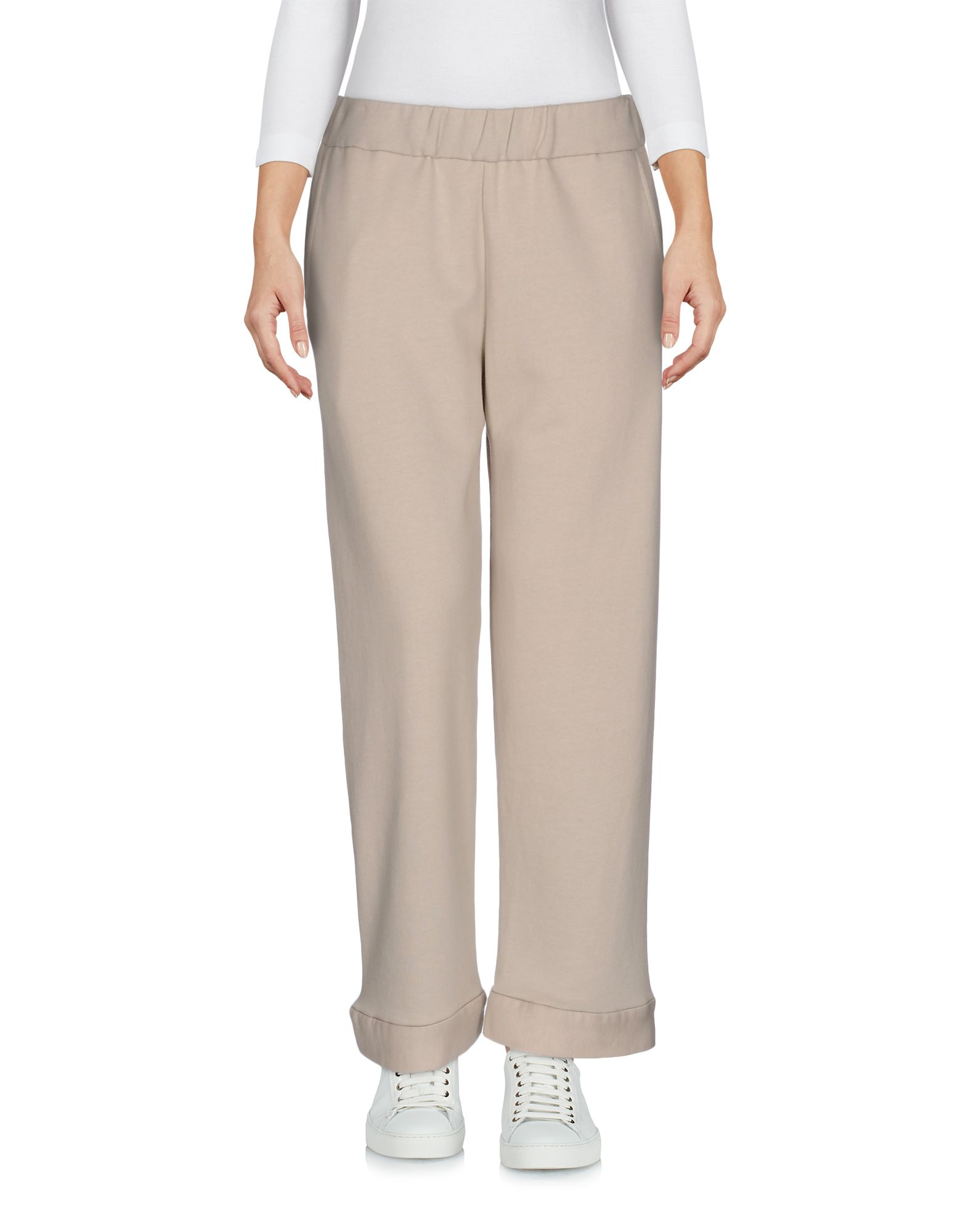 WATER Cropped Pants & Culottes in Beige