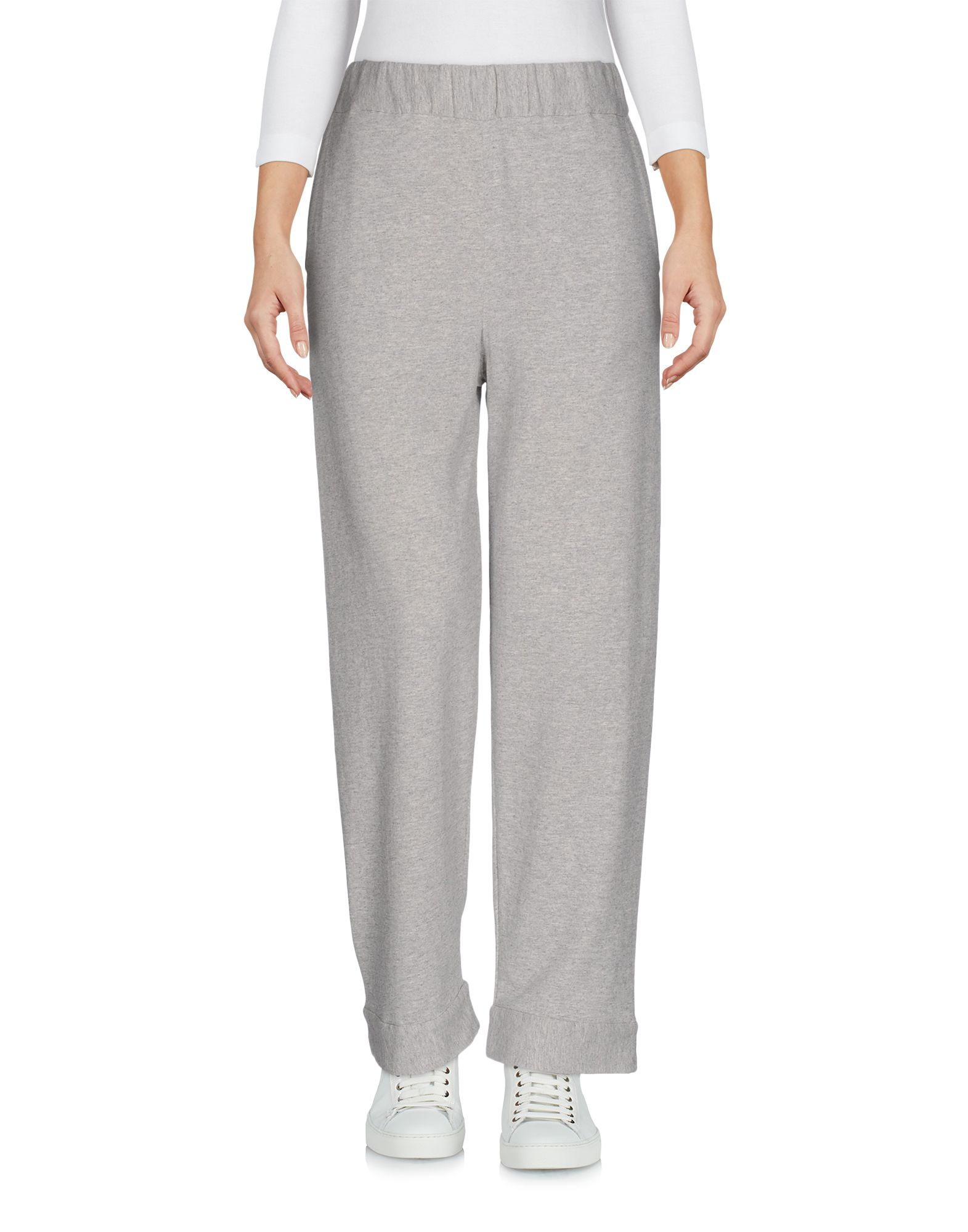 WATER Cropped Pants & Culottes in Light Grey