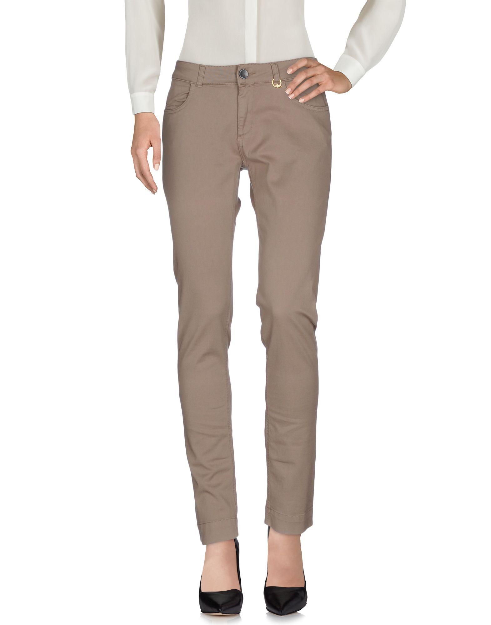 Фото TWIN-SET Simona Barbieri Повседневные брюки. Купить с доставкой
