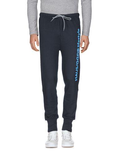 Фото - Повседневные брюки от HAUS GOLDEN GOOSE темно-синего цвета