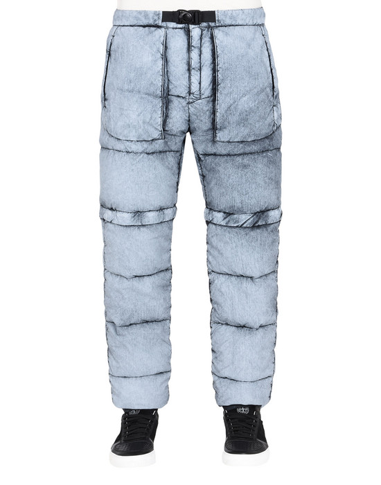 STONE ISLAND Trousers 31353 TELA NYLON DOWN WITH DUST COLOUR FROST FINISH
