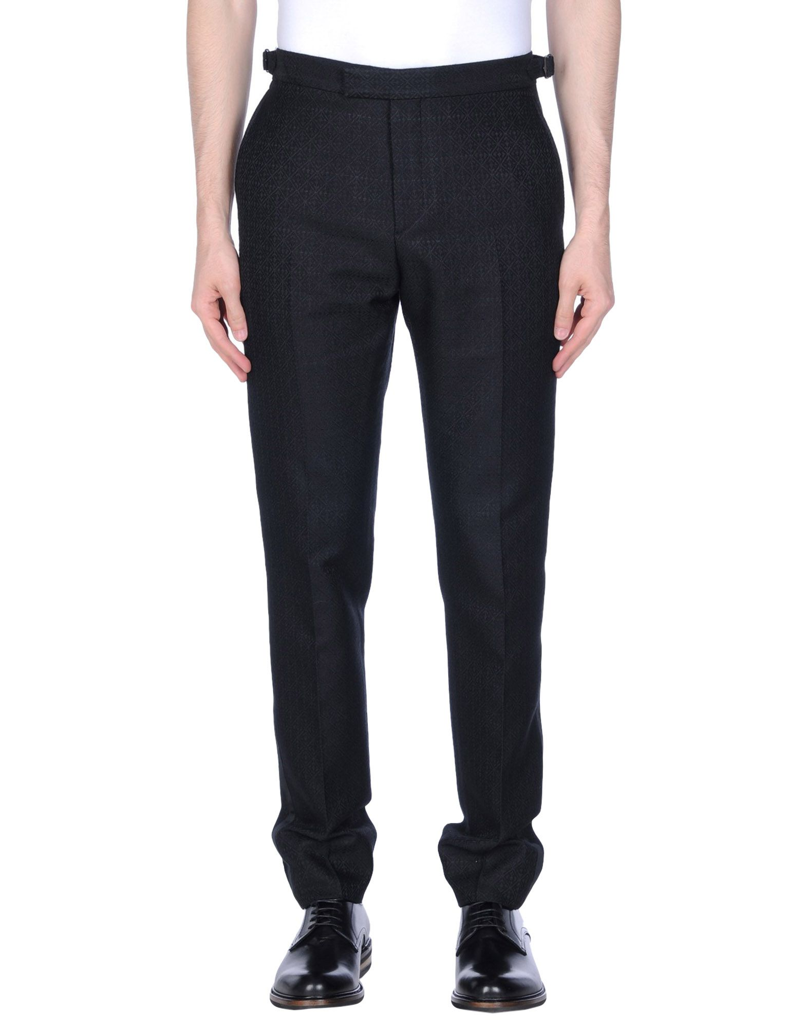 HARDY AMIES Casual Pants in Black