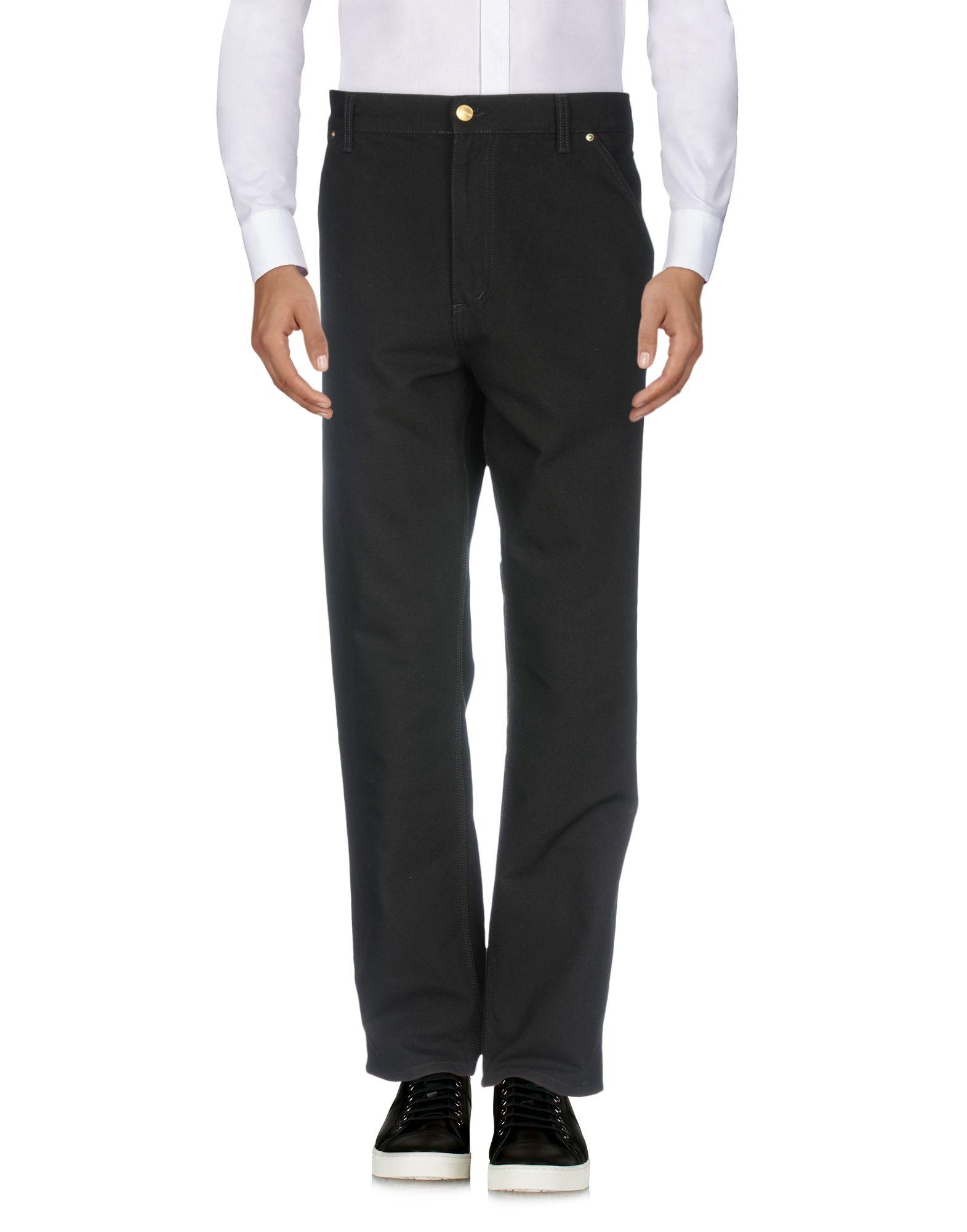 CARHARTT Повседневные брюки брюки carhartt wip i003367 hamilton brown rinsed