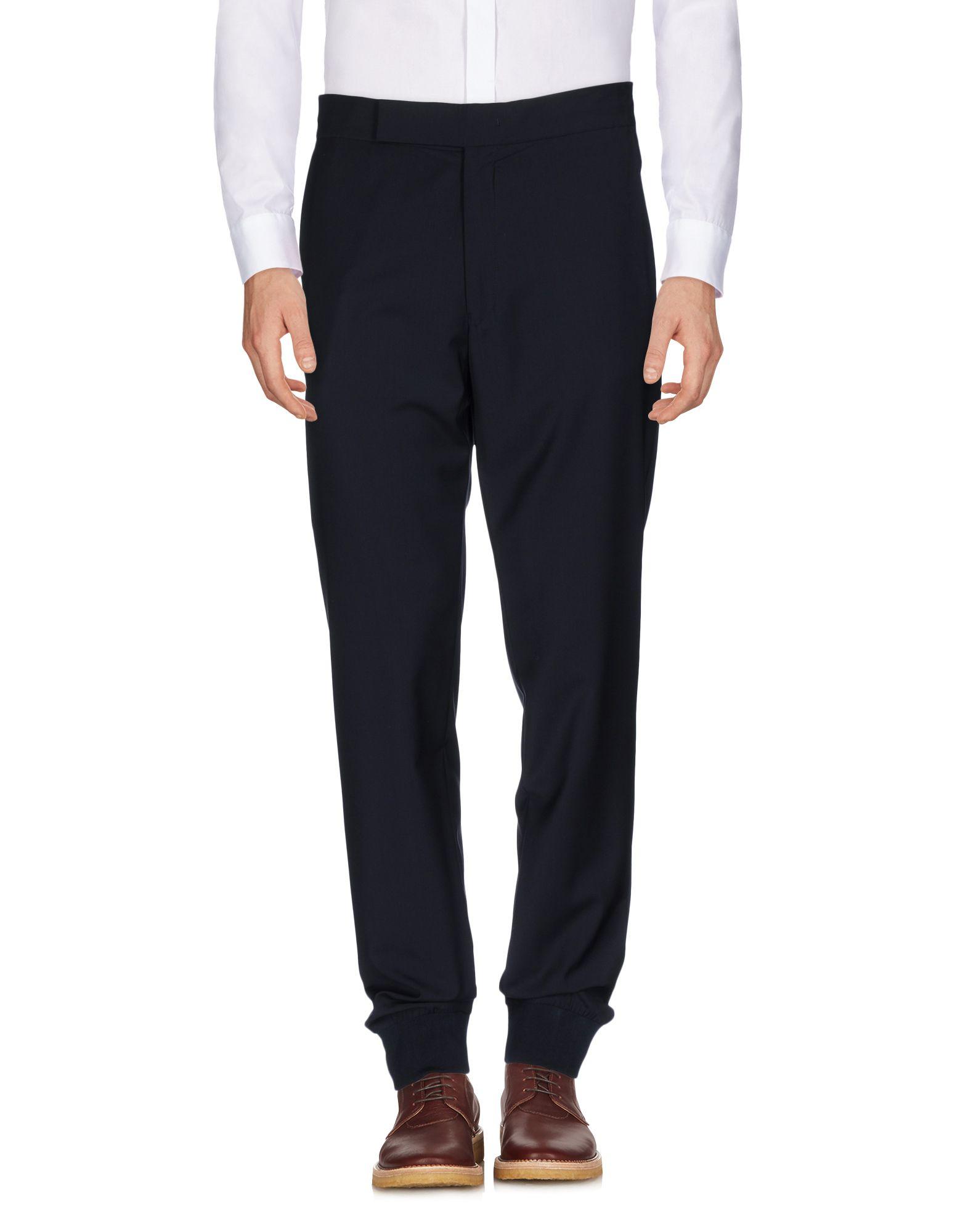 Paul Smith Casual Pants In Dark Blue