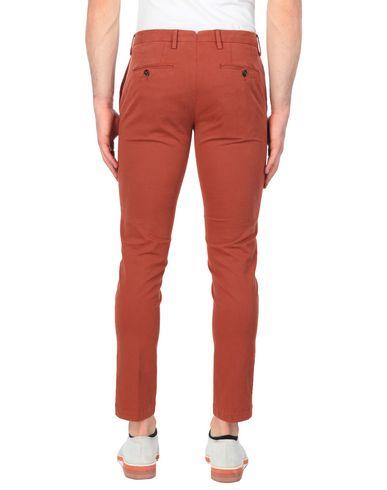 Фото 2 - Повседневные брюки от PT01 ржаво-коричневого цвета