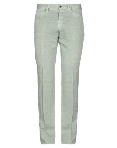 Фото - Повседневные брюки от INCOTEX цвет зеленый-милитари