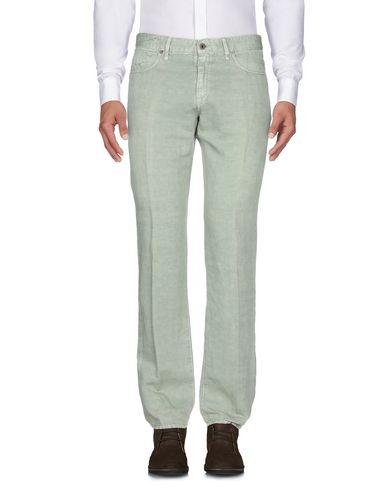 Фото 2 - Повседневные брюки от INCOTEX цвет зеленый-милитари