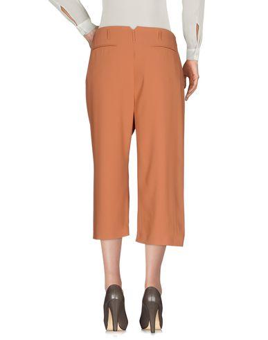 Фото 2 - Укороченные брюки цвет телесный