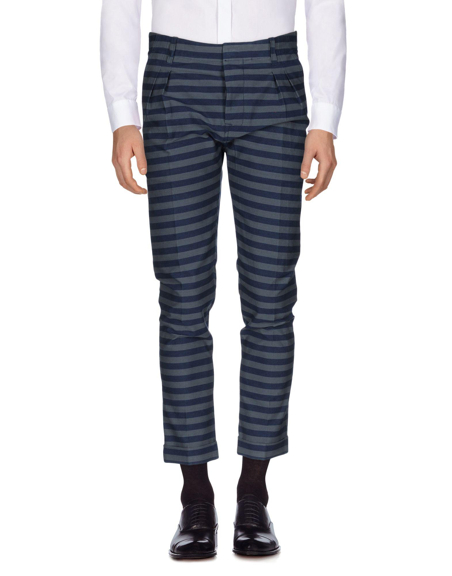 цена ANDREA POMPILIO Повседневные брюки онлайн в 2017 году