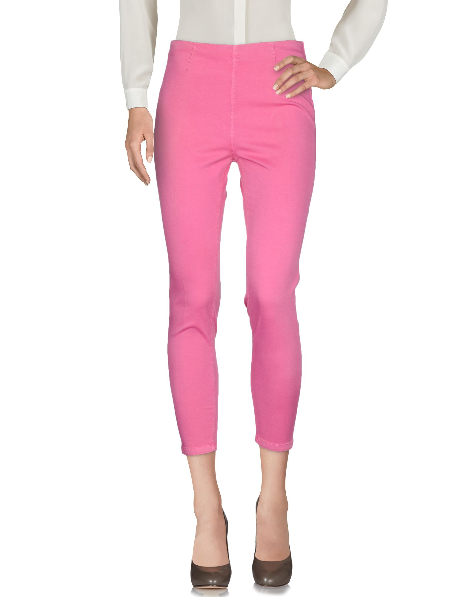 BLUE LES COPAINS Повседневные брюки цены онлайн