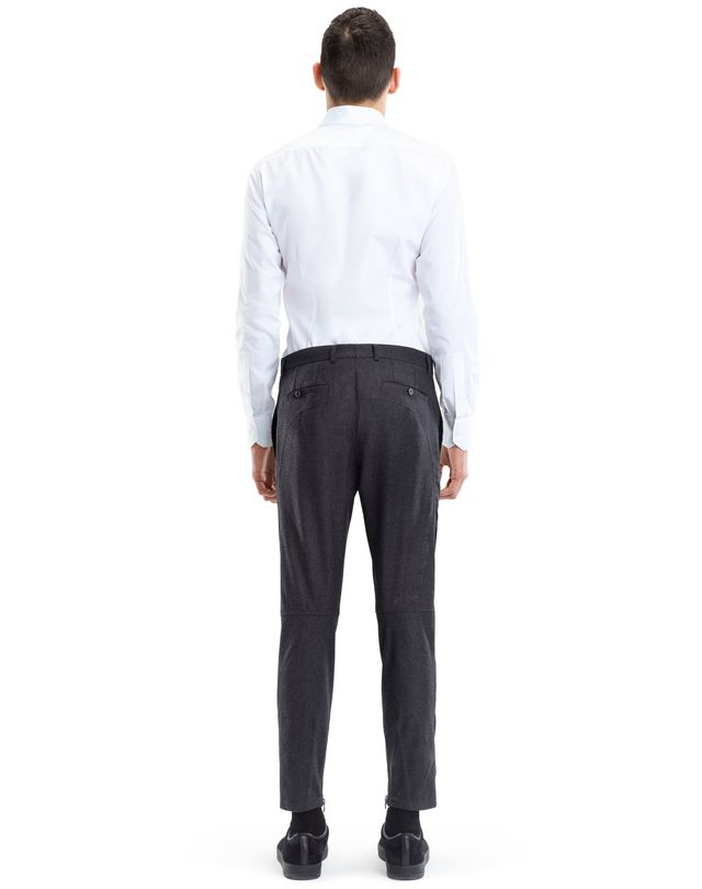 LANVIN WOOL AND CASHMERE BIKER PANTS Pants U d