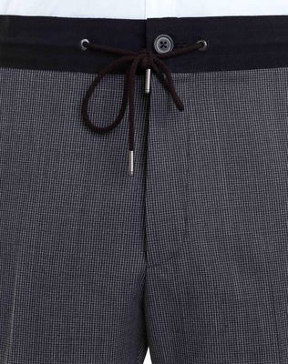 LANVIN SLIM-FIT PANTS WITH GROSGRAIN BELT Pants U a