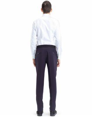 LANVIN SLIM-FIT PANTS WITH GROSGRAIN BELT Pants U d