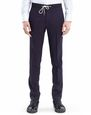 LANVIN Pants Man SLIM-FIT PANTS WITH GROSGRAIN BELT f