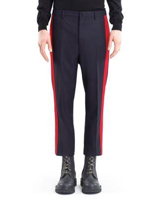 LANVIN STRAIGHT-LEG PANTS WITH RED TRIM Pants U f