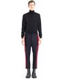 LANVIN Pants Man STRAIGHT-LEG PANTS WITH RED TRIM f