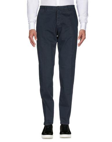 Фото 2 - Повседневные брюки от OFFICINA 36 темно-синего цвета