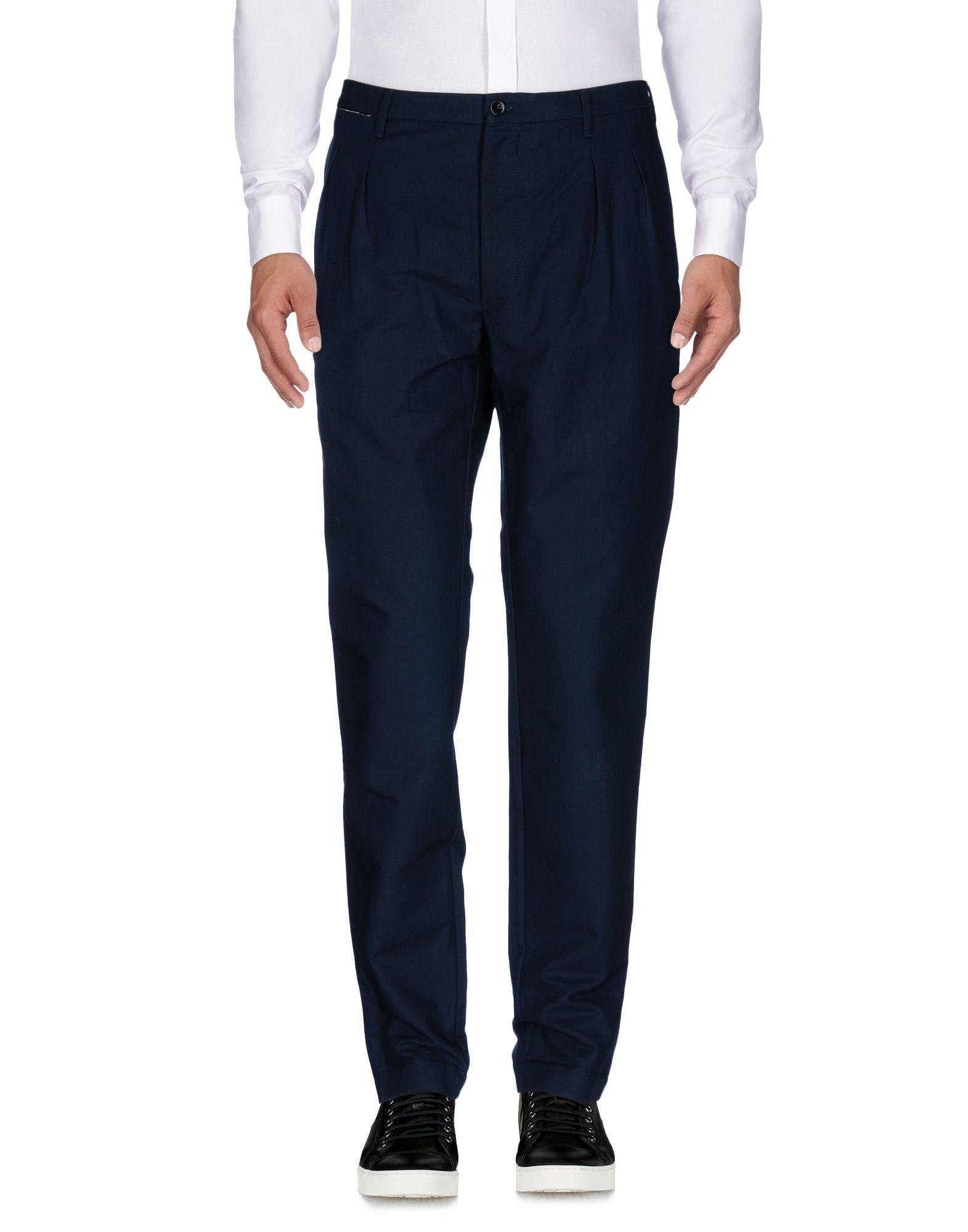 《送料無料》ARCHIVIO Firenze メンズ パンツ ダークブルー 36 コットン 100%