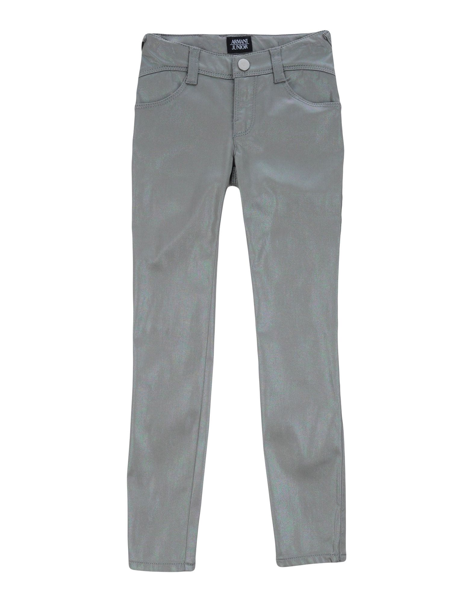 ARMANI JUNIOR Casual Pants in Silver
