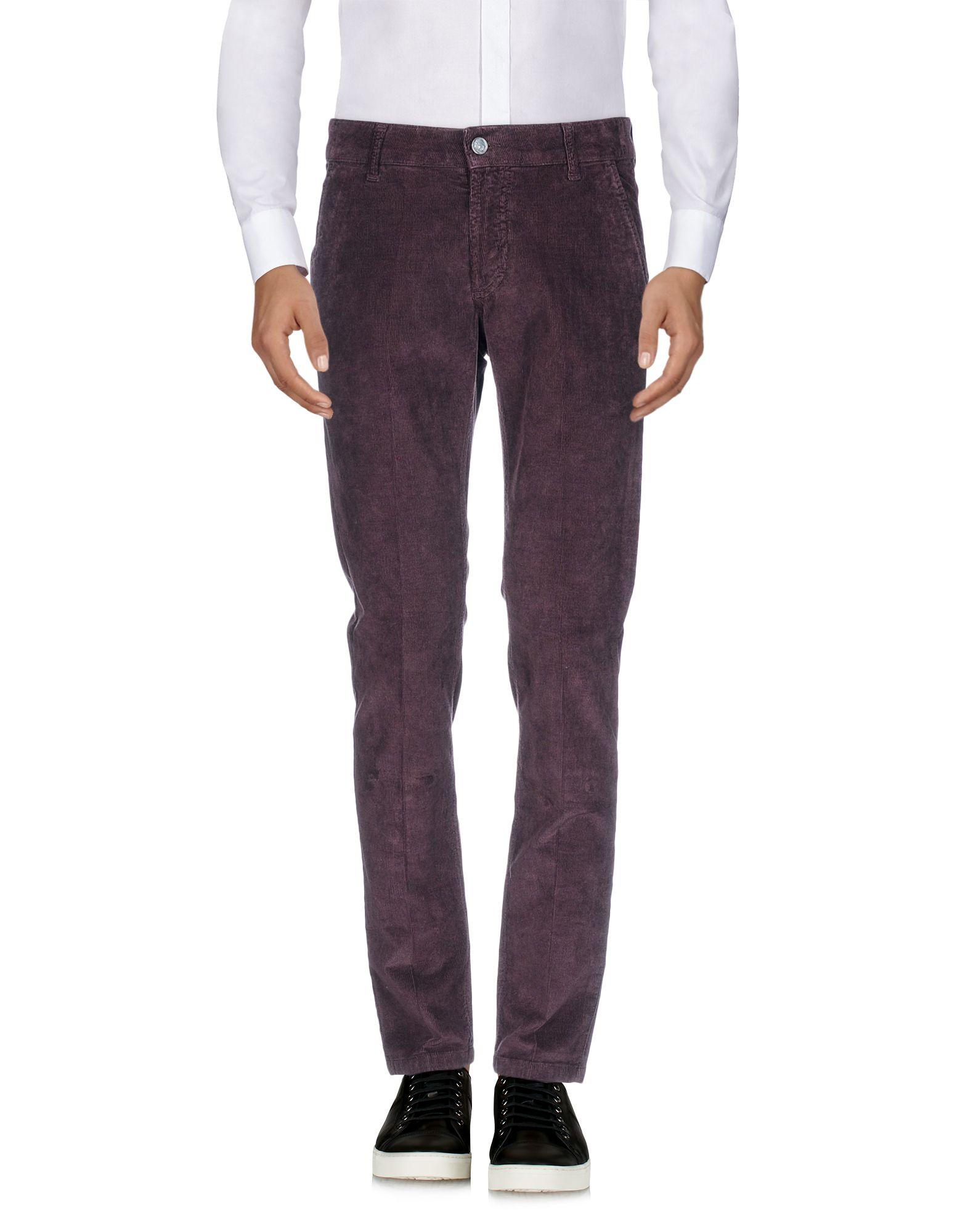 ENTRE AMIS Повседневные брюки amis st30p white
