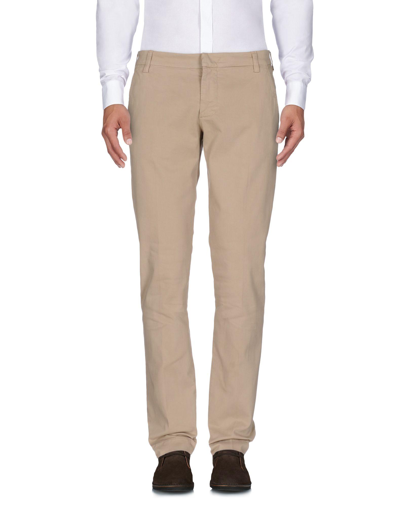 《セール開催中》ENTRE AMIS メンズ パンツ サンド 38 コットン 97% / ポリウレタン 3%
