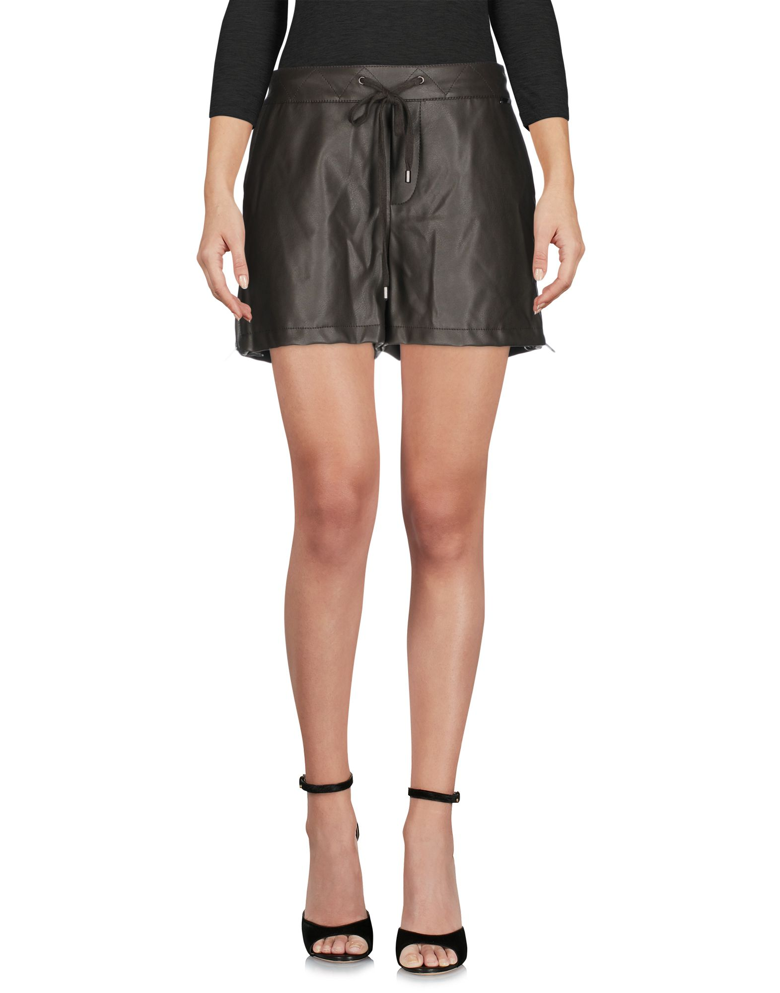 TWIN-SET Simona Barbieri Повседневные шорты checker knot bikini set