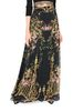 ALBERTA FERRETTI PALACE BLACK SKIRT SKIRT Woman r