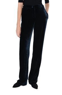 ALBERTA FERRETTI VELVET PYJAMAS PANTS TROUSERS Woman r