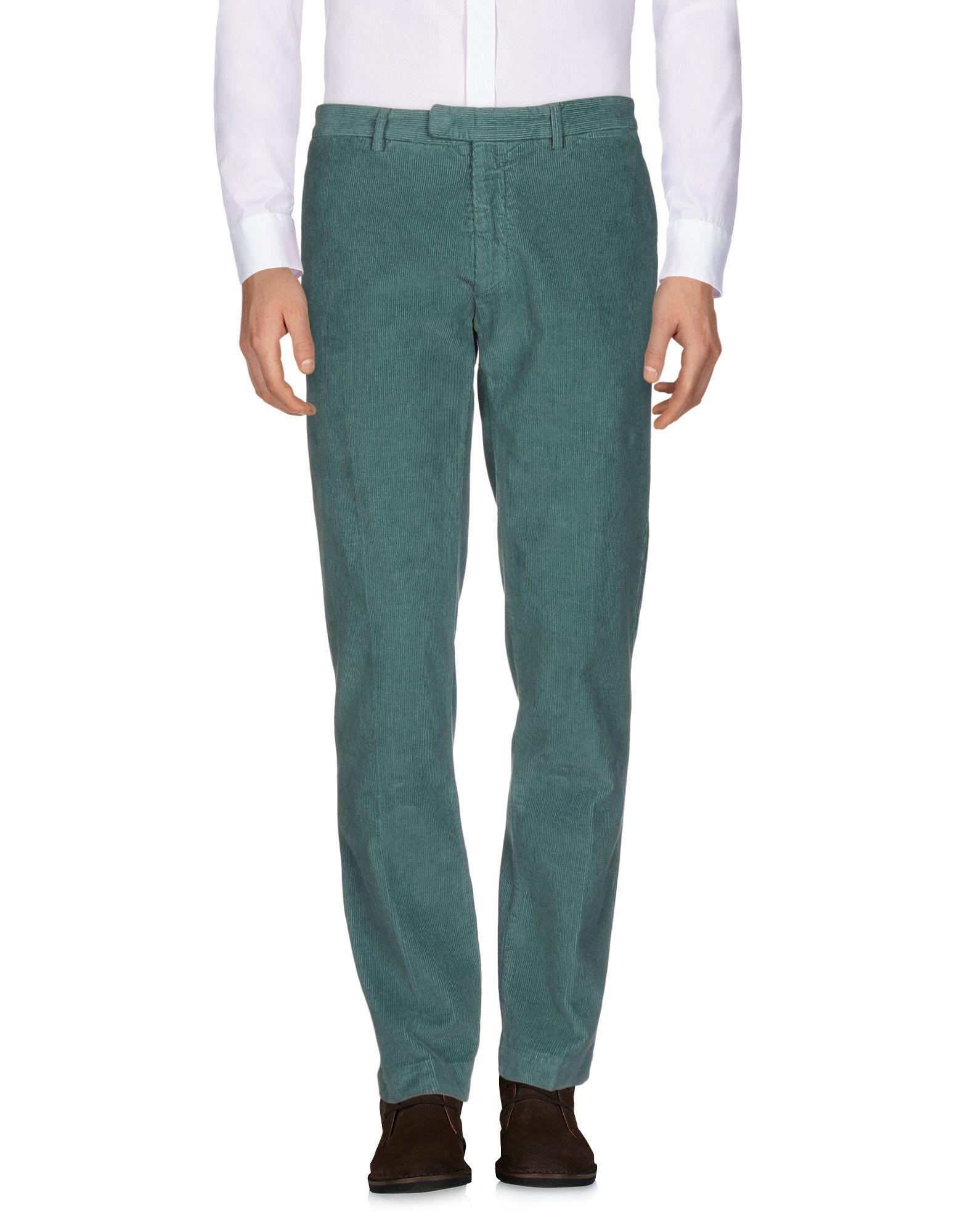 《期間限定セール開催中!》DOPPIAA メンズ パンツ グリーン 46 コットン 100%