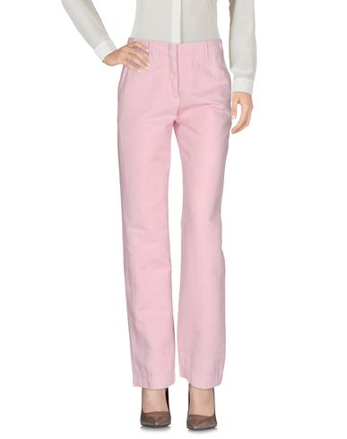 Фото - Повседневные брюки от INCOTEX светло-розового цвета