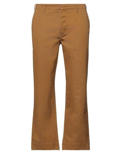 Фото - Повседневные брюки от INCOTEX цвет верблюжий
