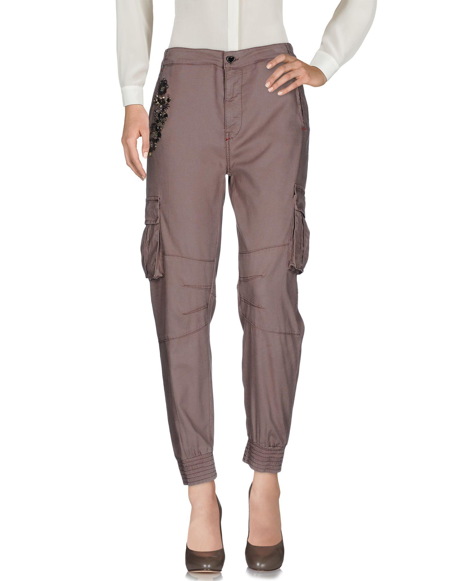 TWIN-SET JEANS Повседневные брюки