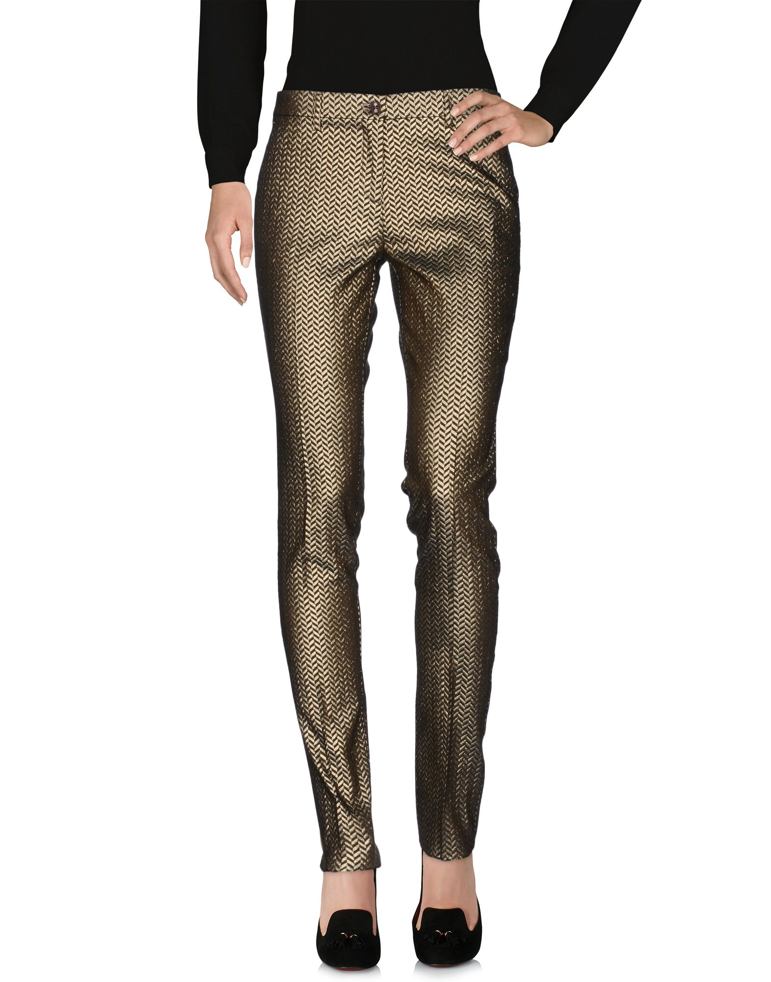 ETRO Повседневные брюки etro шелковые брюки