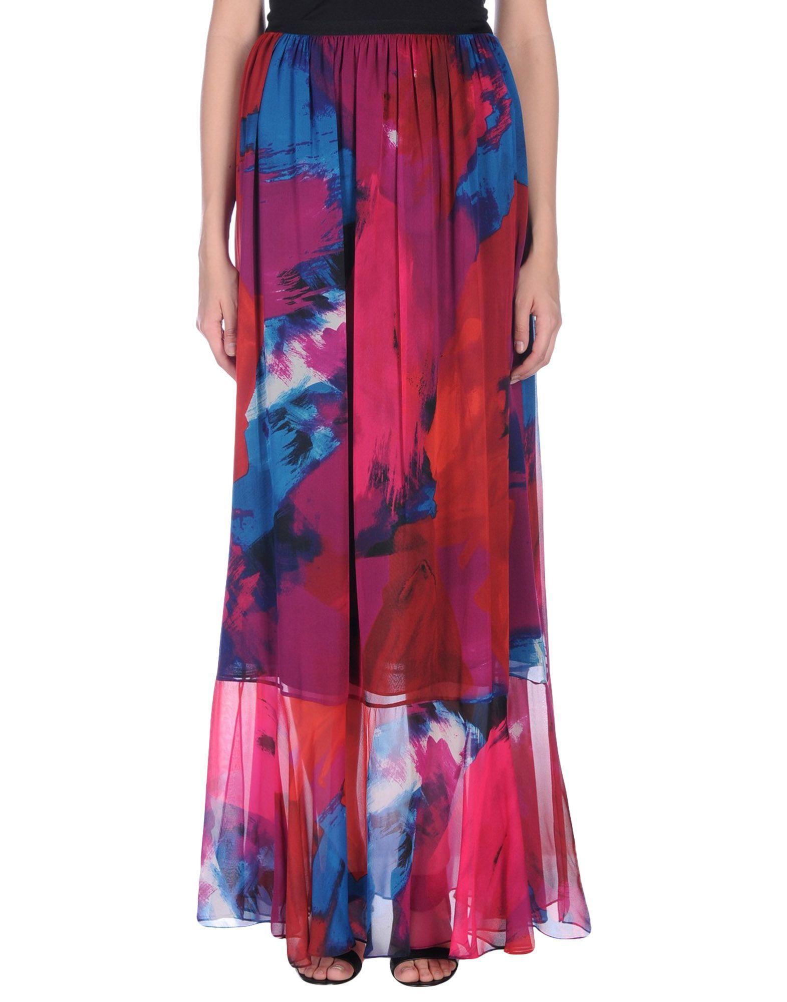 где купить  DIANE VON FURSTENBERG Длинная юбка  по лучшей цене