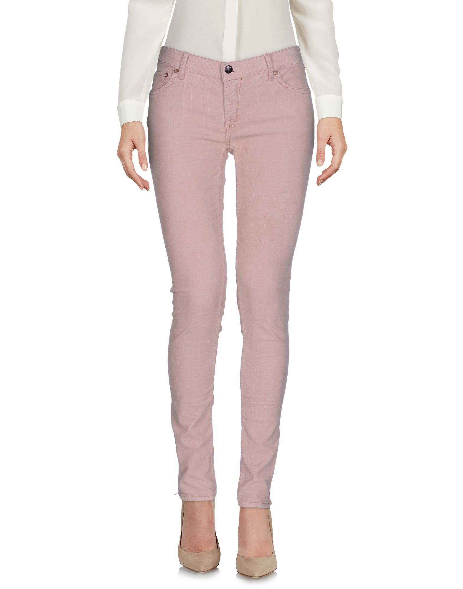EVISU Casual Pants in Light Pink