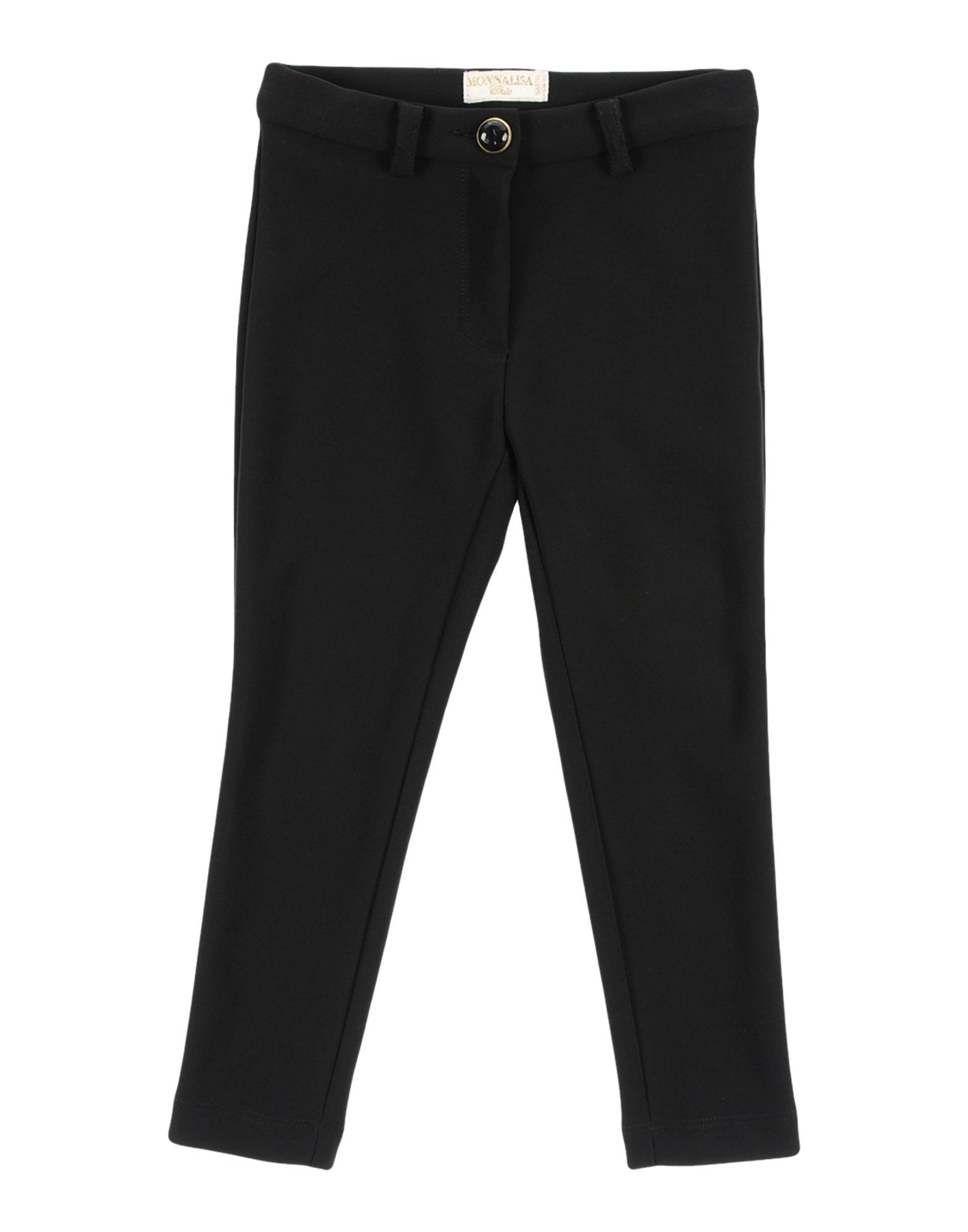 MONNALISA CHIC Casual Pants in Black