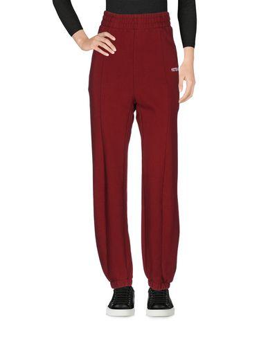 Повседневные брюки VETEMENTS. Цвет: красно-коричневый