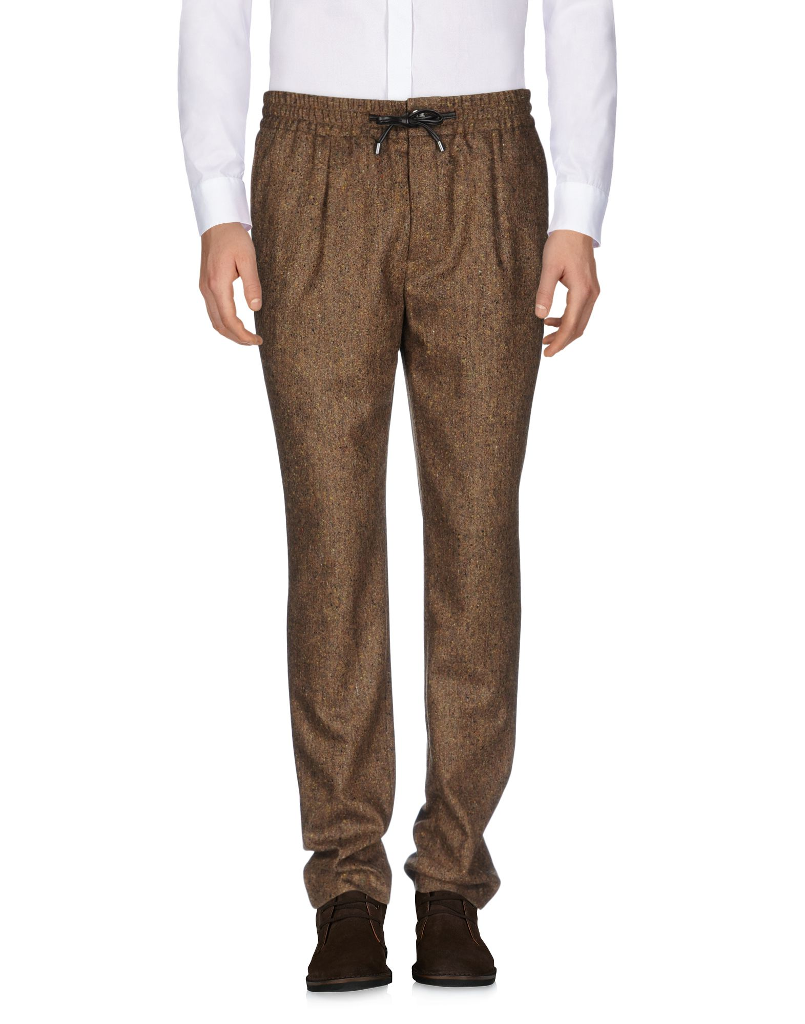 BERNARDO GIUSTI Casual Pants in Brown