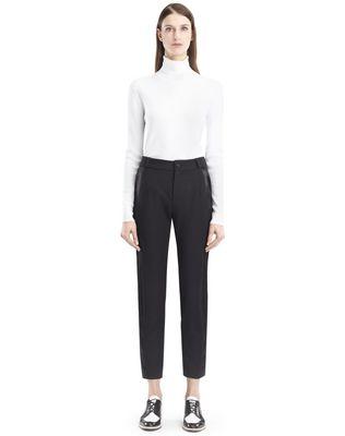 LANVIN Trousers D GABARDINE TROUSERS F